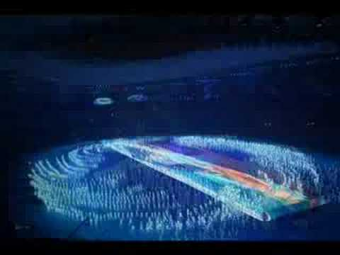 Beijing opening ceremony -  Olympic games - China original slideshow  02/03 for Mediapart.fr
