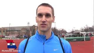 Andy Gilmore on USATF Indoors & still HJing @ 2013 Wash U Inv
