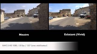Test Sony action cam HDR AS200V