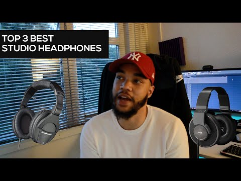 Top 3 : Best Studio Headphones (For Producers, Singers, Mixing)