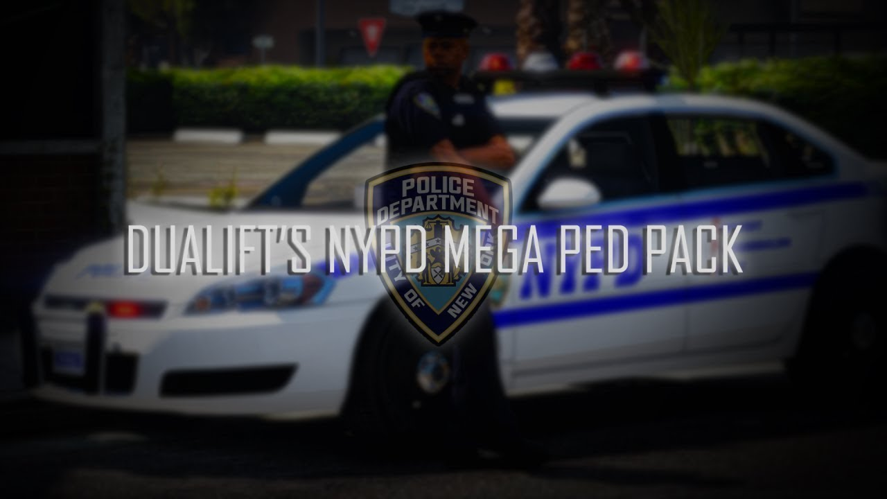 Dualift's NYPD Mega Ped Pack - Trailer (GTA 5 LSPDFR)