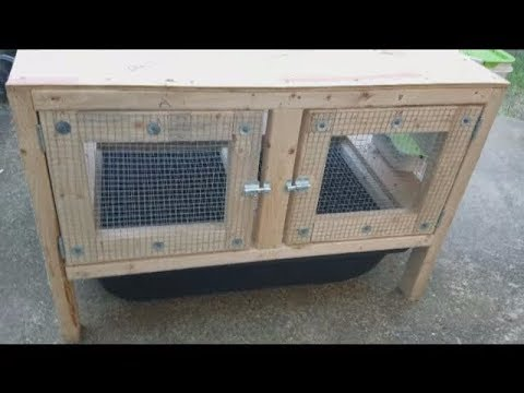 New DIY Rabbit Hutches