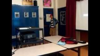 the 4 homos dancing cumbia in WPHS