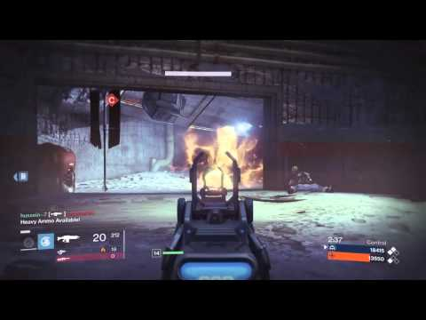 Destiny spawn trap in Crucible