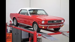 1966 Mustang V8, 4 Speed, 19,324 Original Miles! @ www.NationalMuscleCars.com #NationalMuscleCars