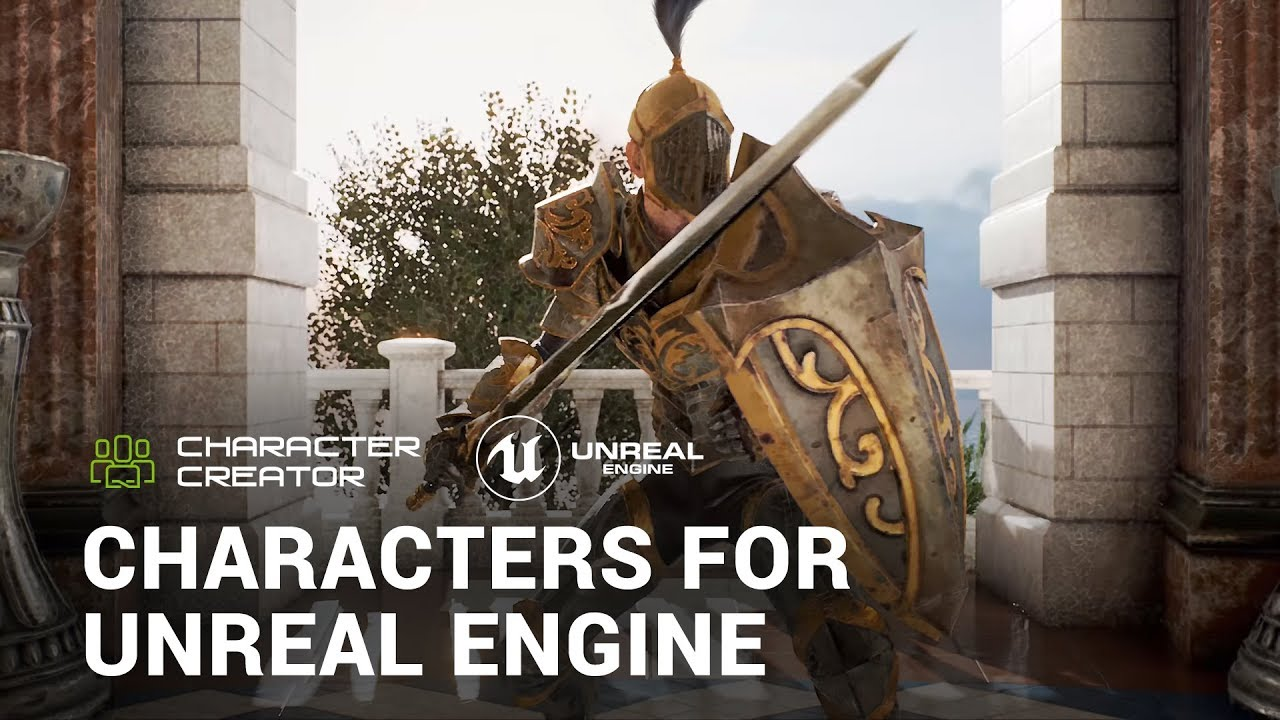 Reallusion plug-in for Unreal Engine makes character