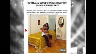 download blood orange freetown sound album