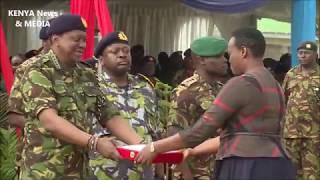 President Uhuru Kenyatta Presided over the KDF 2018 AWARDS at GILGIL!!!
