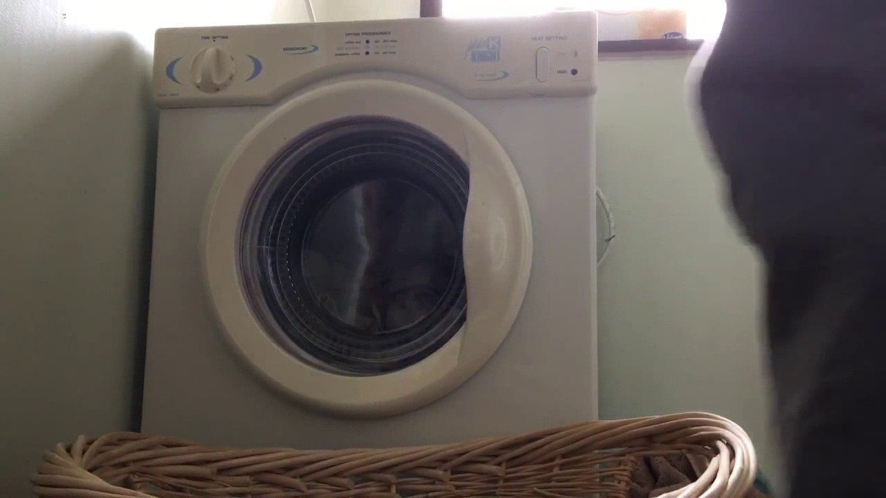 white knight cl372wv 39 39 sensordry 39 39 compact tumble dryer. Black Bedroom Furniture Sets. Home Design Ideas