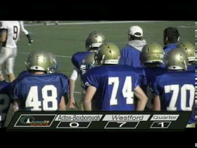 Colonials Football vs Westford 11/22/12