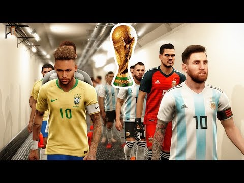 FIFA World Cup Final 2022 - BRAZIL vs ARGENTINA