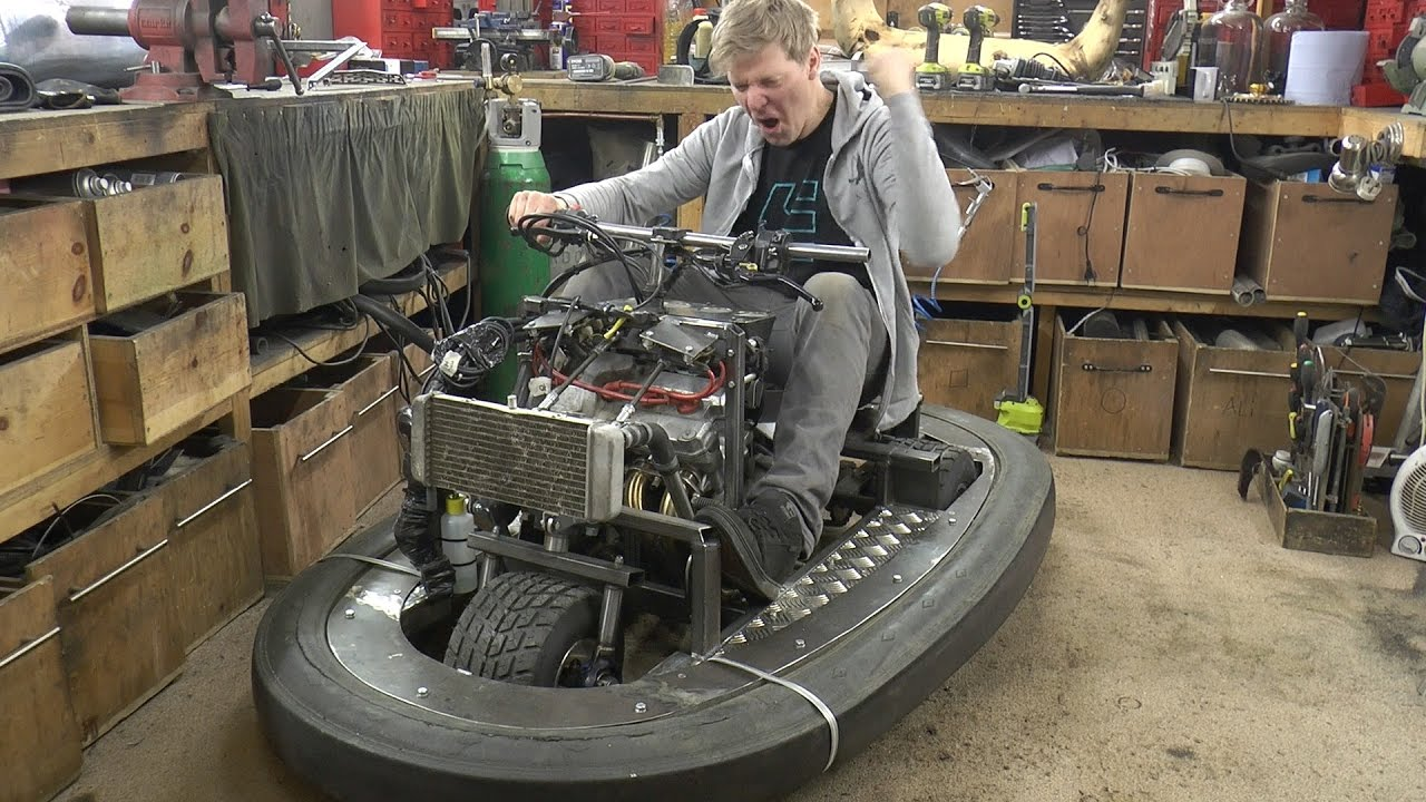 Squeezing 600cc 100bhp Engine In A Bumper Car 2 Colin