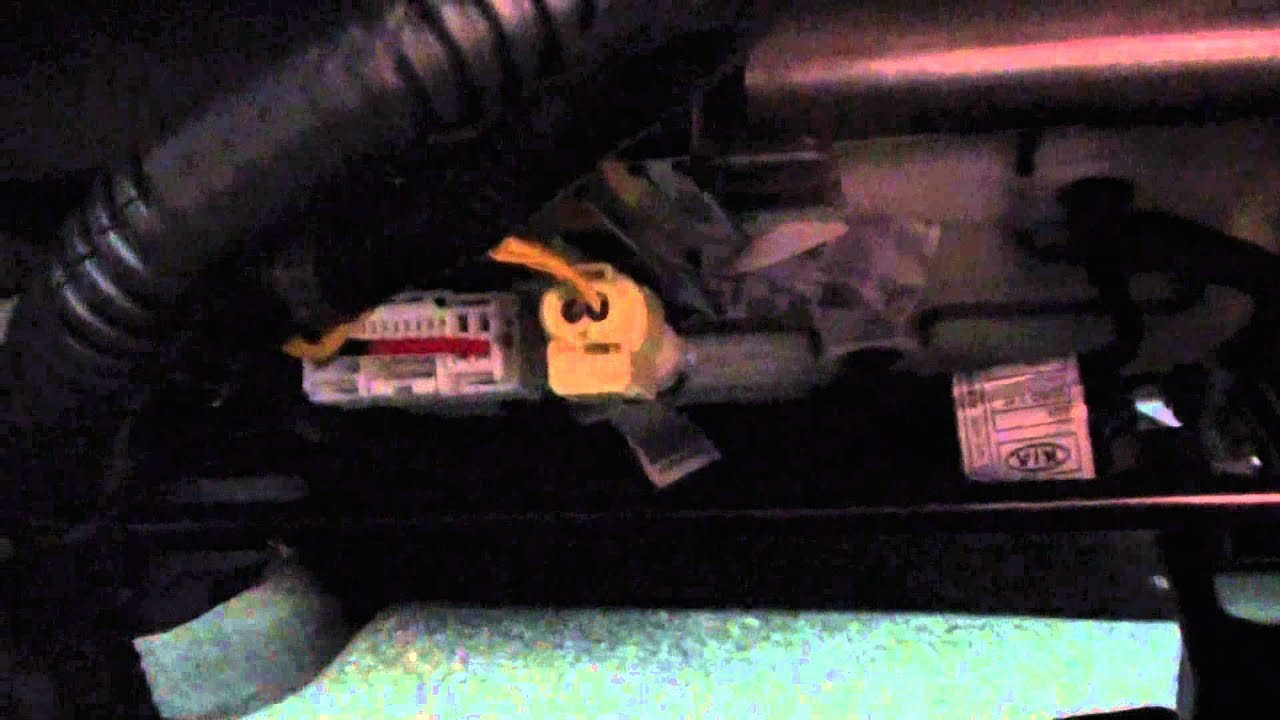 2014 Kia Cee'd Passenger Airbag Connector Under Seat  YouTube