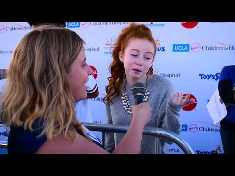 Francesca Capaldi  at Mattel's Party on the Pier