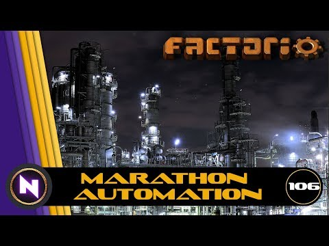 Factorio - Marathon Automation - E106 - Lithium Ion Batteries