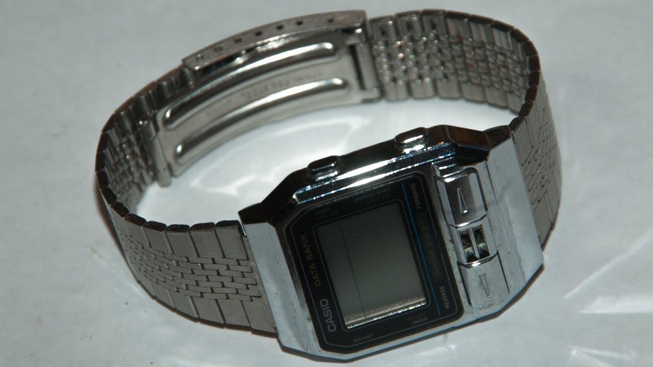 bc58361e031 済 754 円 DBA-800 Casio Data Bank digital watch カシオデータバンク .