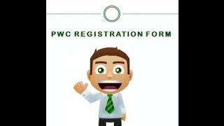 PWC Registration Form Application