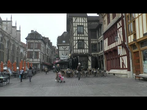 Walk around Troyes France