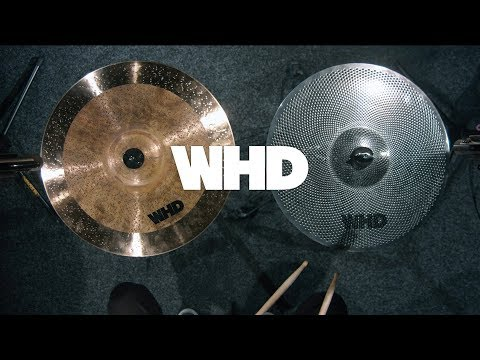 """WHD 16"""" Quiet Practice Crash Cymbal 