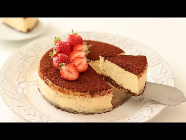 濃厚ティラミス・チーズケーキの作り方 Tiramisu Cheesecake|HidaMari Cooking