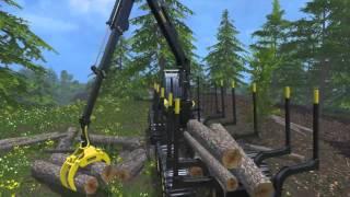 LS15  Landwirtschaft Simulator 15   Forstwirtschaft  LS15 Ponsse