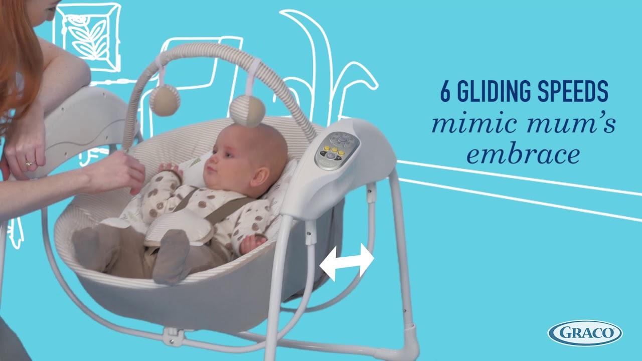 Graco Glider Lite Gliding Swing Lionel