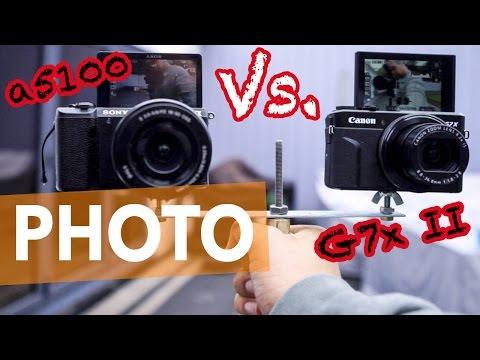BEST VLOGGING CAMERA 2016 - CANON G7X II VS. SONY a5100