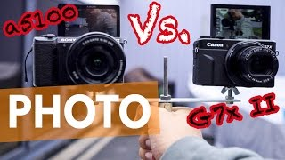best vlogging camera 2016 canon g7x ii vs sony a5100