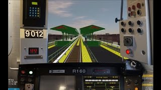 OpenBVE HD: Operating NYC Subway R160B Siemens F Train via Culver Express to Jamaica-179th Street