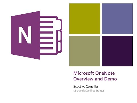 2017-02-16 - OneNote - An Introduction to the Best Product You're Not Using
