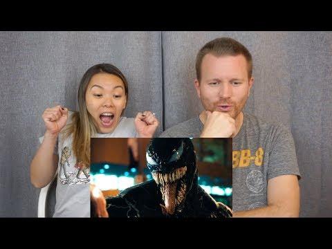 Venom Official Trailer // Reaction & Review