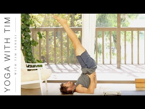 How to do Shoulderstand Salamba Sarvangasana Most Complete Guide | Yoga With Tim