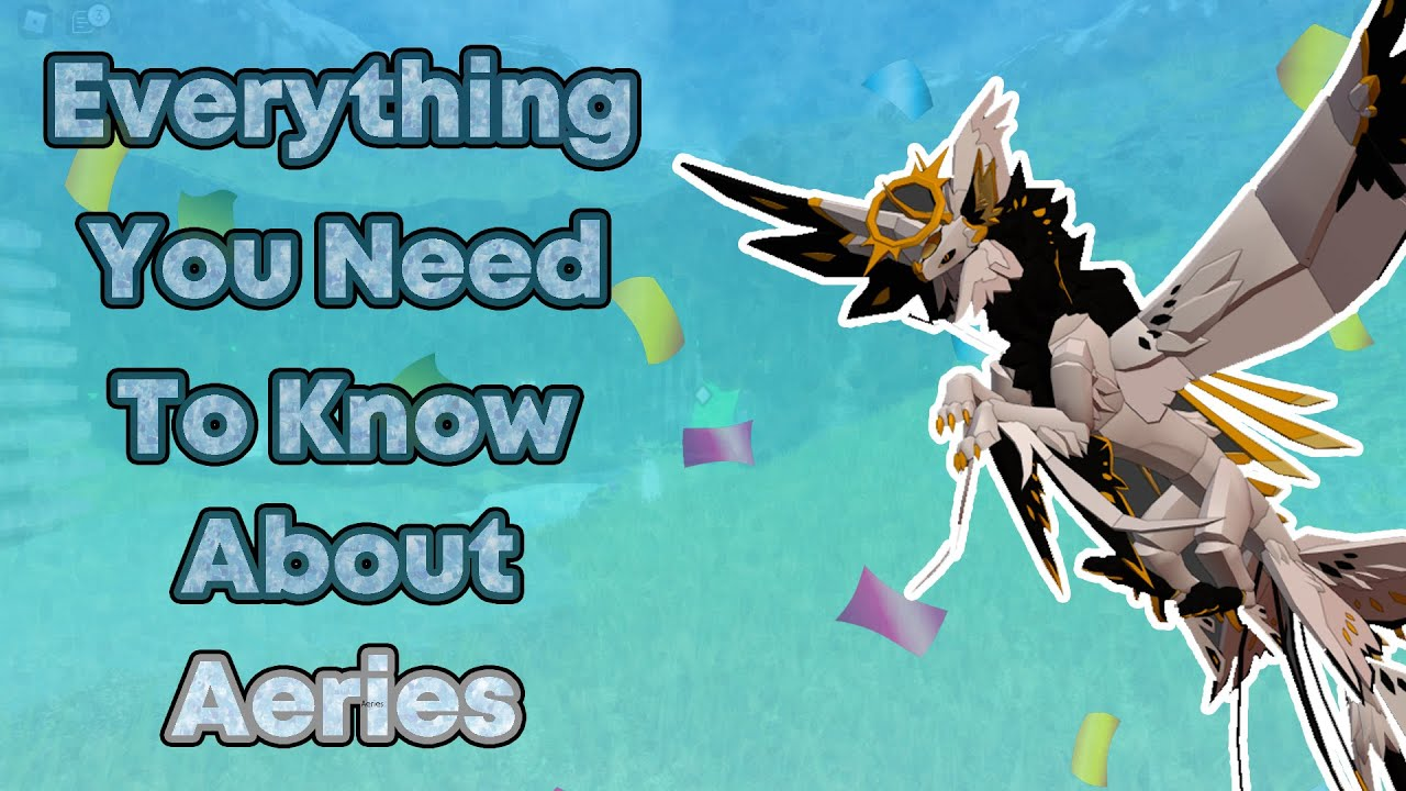 Download EVERYTHING YOU NEED TO KNOW ABOUT AEREIS AND HOW TO GET IT! | Roblox Creatures of Sonaria