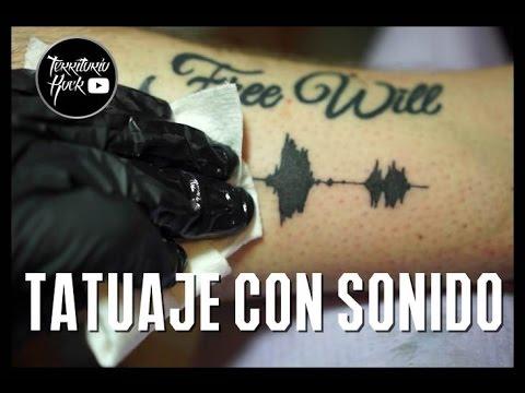 Tatuaje con sonido ¿te imaginas llevar en la piel tu canción favorita? | Territorio Rock
