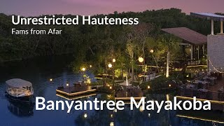 Never before seen virtual tour of Banyan Tree Mayakoba , Mexico