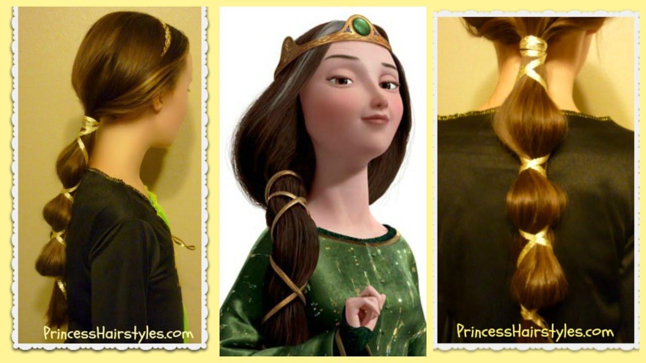 Queen Hairstyles: Disney's Brave Hairstyle, Queen Elinor, Halloween
