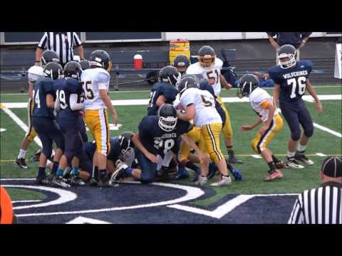 9/26/2016 Kirtland Middle School Football vs West Geauga Middle School