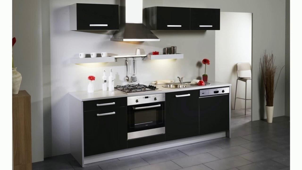 meuble de cuisine noir youtube
