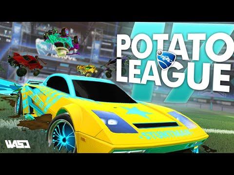 POTATO LEAGUE #17 | Rocket League Funny Moments & Fails thumbnail