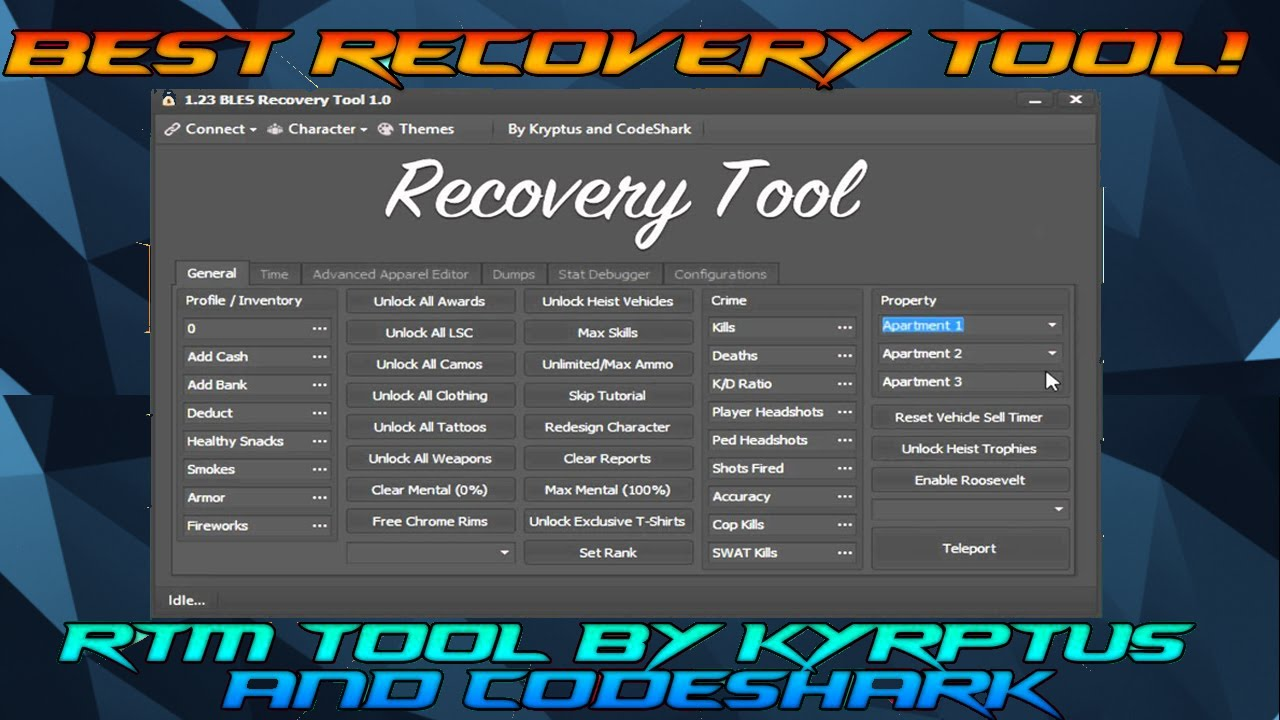 [GTA 5/PS3] Recovery RTM Tool 1 26/1 27 BLES CEX/DEX + Download