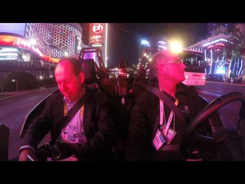 A ride with RORY CELLAN-JONES and the Pocket Man