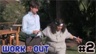 Work It Out - Lesson 2: Yoga Poses (with Stephanie Rogers & Zach Braff)