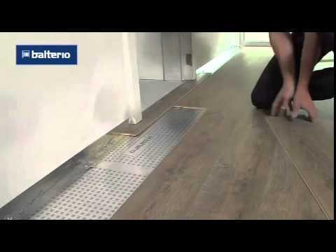 замена декоративной панели у входной двери - YouTube