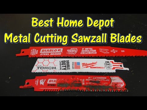 What is the Best Metal Sawzall Blade from Home Depot? @GettinJunkDone