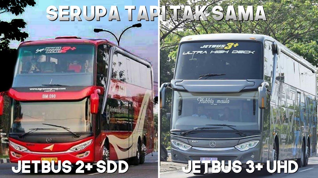Serupa Tapi Tak Sama Varian Terbaru Jetbus 3 Uhd Ultra Hight Deck Adiputro