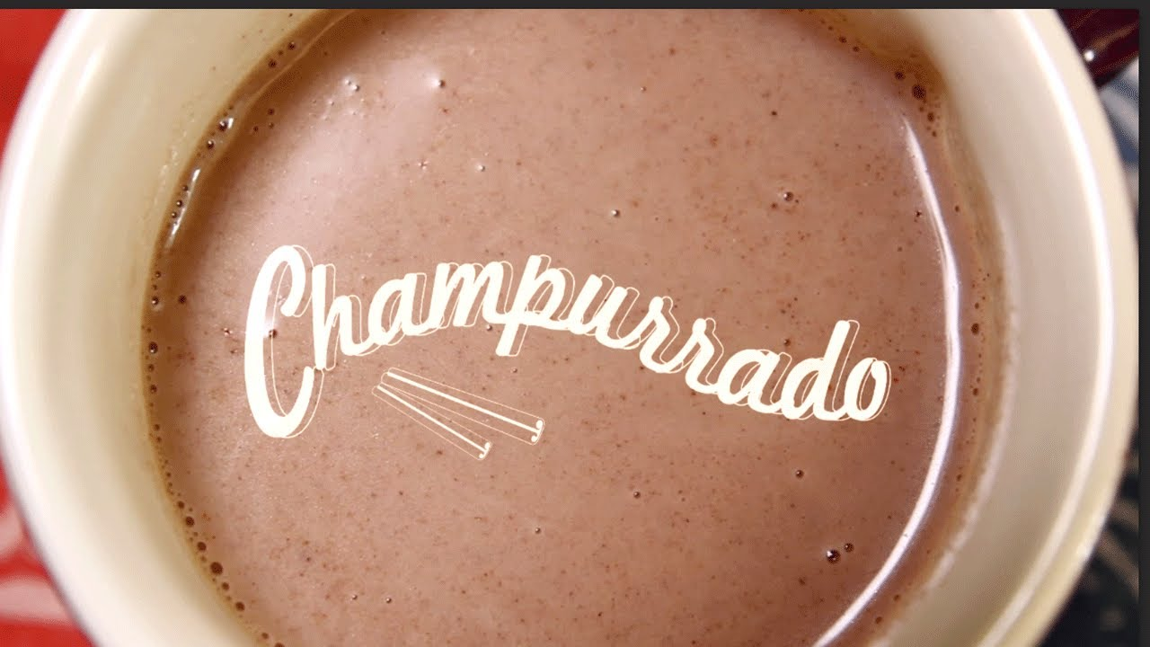 Champurrado (Mexican Hot Chocolate) | Thirsty For... - YouTube