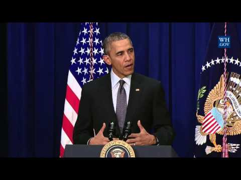 Obama Signs Bill Fixing No Child Left Behind Act - Full Event