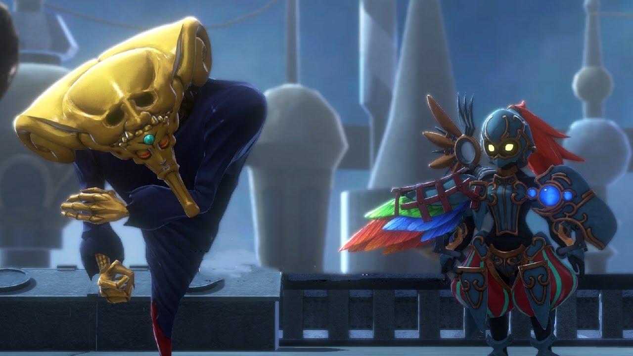 Image result for world of final fantasy golden mask