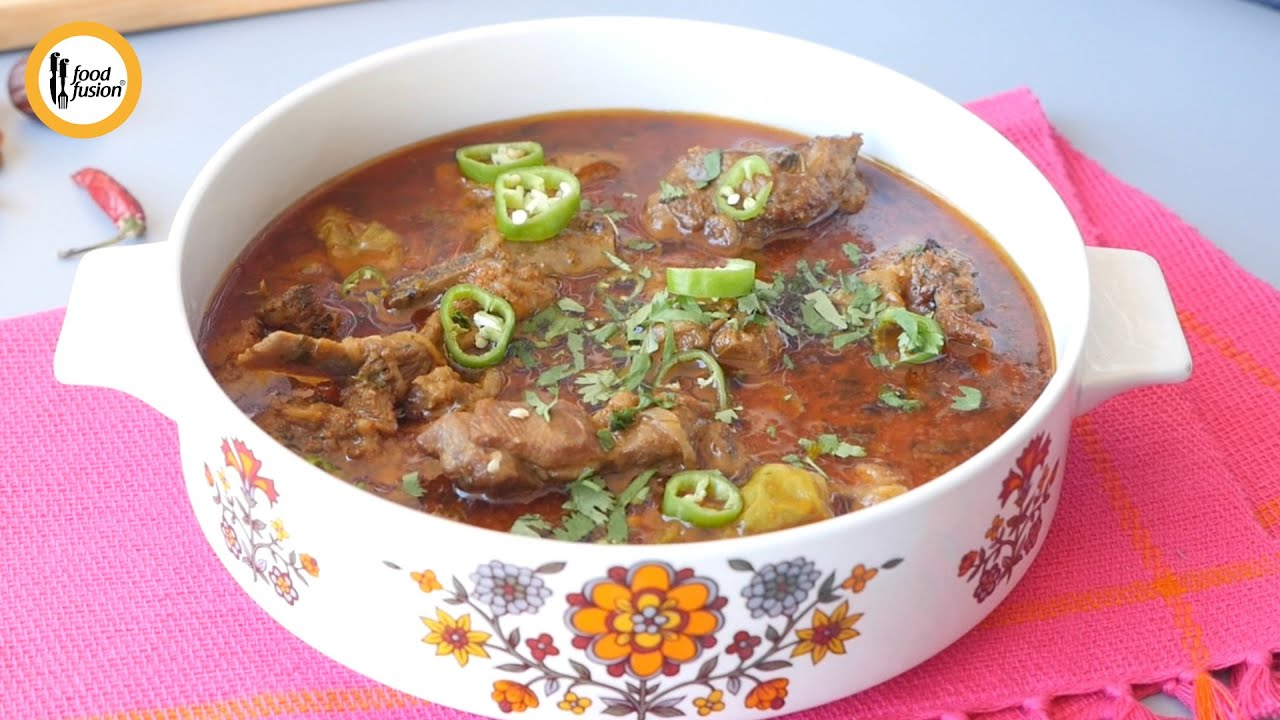 Mutton Shorba Recipe By Food Fusion (Bakra Eid Special)