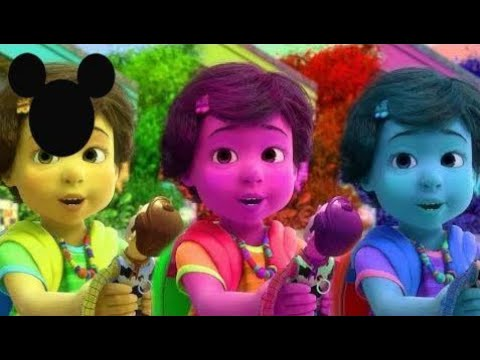 Learn Colors With Toy Story 3 Bonnie Funny Momment Videos 26